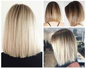 9 Варіантів стрижки каре боб на середні волосся фото