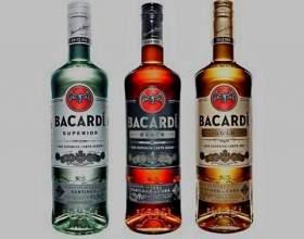 Бакарді: з чим і як п`ють білий і чорний ром? фото