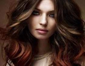 Балаяж для темного волосся: особливості процедури, фото до і після фото