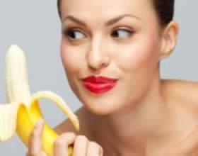 Бананова маска для обличчя фото