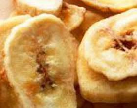Бананові чіпси фото