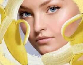 Бананові маски для обличчя та волосся фото