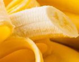 Банани, користь і шкода бананів, склад бананів, вітаміни в бананах, корисні властивості бананів, бананова дієта фото