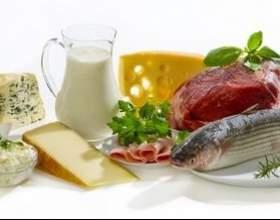 Білкова їжа: список продуктів в таблиці - для схуднення і здорового харчування фото