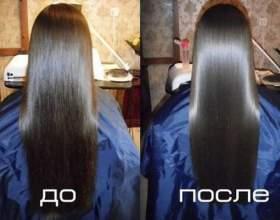 Біоламінірованіе. Фото до і після процедури фото