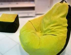 Чим наповнити крісло мішок: опис доступних матеріалів фото