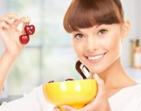 Черешня - корисна ягода при дієті для схуднення фото