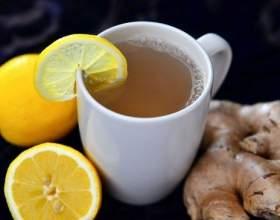 Чорний і зелений чай з імбиром: рецепти приготування для схуднення фото