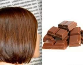 Колір волосся молочний шоколад фото
