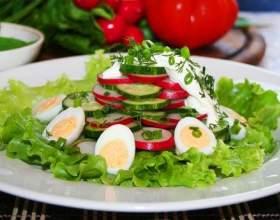Дієтичний річний салат фото