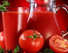 Дієтичний напій з томатів фото