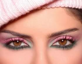 Денний та вечірній макіяж для карих очей фото