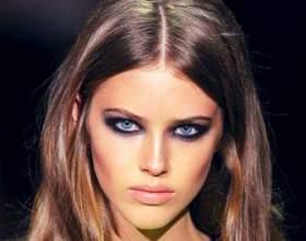 Димчастий макіяж очей фото