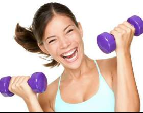 Фітнес з гантелями для жінок - вправи для схуднення фото
