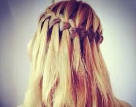 Французькі зачіски: плетіння кіс фото