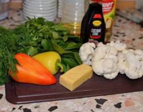«Грін» - дивовижний салат з цвітної капусти фото