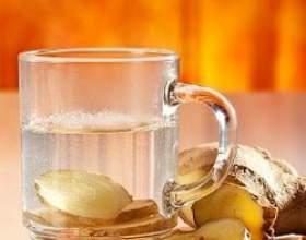 Імбирний чай, користь, рецепти приготування, імбирний чай для схуднення фото
