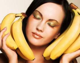Ефективні маски з бананів фото