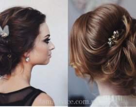 Елегантні весільні зачіски: відео фото
