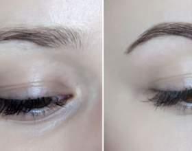 Як фарбувати брови хною (+ фото «до» і «після») фото