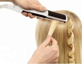 Як накрутити волосся праскою? фото