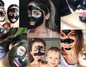 Як наносити і скільки тримати чорну маску на обличчі фото