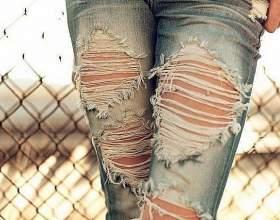Як оновити старі джинси? фото