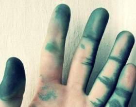 Як відмити зеленку з шкіри рук. Кращі способи фото