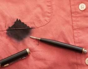 Як відіпрати ручку з одягу? Способи, перевірені часом! фото