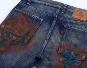 Як відтерти фарбу з джинсів? фото
