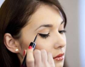 Як правильно фарбувати очі підведенням? фото