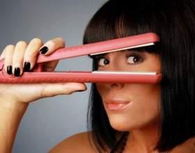 Як правильно користуватися праскою для випрямляння волосся? Як зробити їм локони? фото