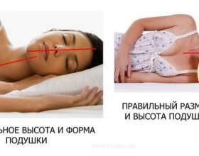 Як правильно спати на ортопедичній подушці. Фото фото