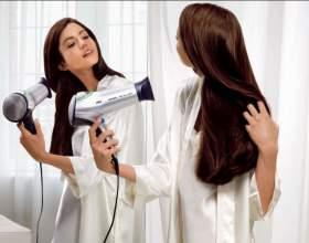 Як правильно укладати волосся феном? фото