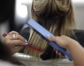Як зробити волосся прямими? Особливості випрямлення волосся в умовах салону і вдома фото