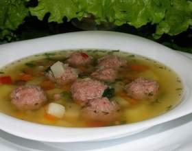 Як варити суп з фрикадельками? Рецепти з овочами, картоплею і рисом фото