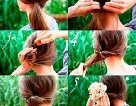 Які швидкі зачіски своїми руками зробити в домашніх умовах фото
