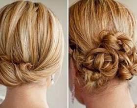 Які легкі зачіски на кожен день на середні волосся можна зробити своїми руками фото