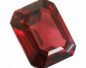 Камінь гранат: особливості мінералу і його властивості фото