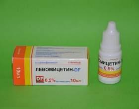 Краплі для очей «левоміцетин»: інструкція із застосування для дорослих і дітей фото