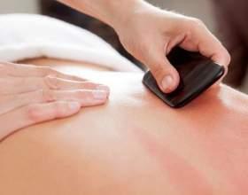 Китайський масаж гуаш. Користь і види технік. фото