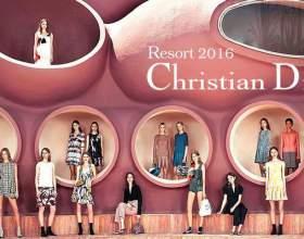 Колекція одягу christian dior resort 2016 фото