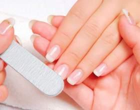 Корекція нігтів гелем фото