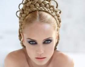 Коси на довге волосся: красиві об`ємні коси своїми руками фото