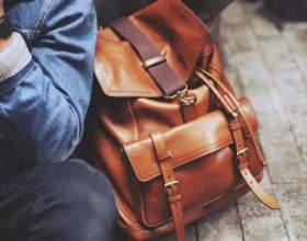 Шкіряні жіночі рюкзаки фото