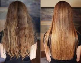 Креативне випрямлення волосся. Види процедури і особливості виконання в домашніх умовах фото