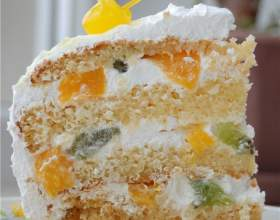 Крем йогуртовий для торта. Ніжний крем для казково-смачних десертів! фото