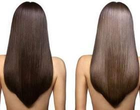 Ламінування волосся желатином фото
