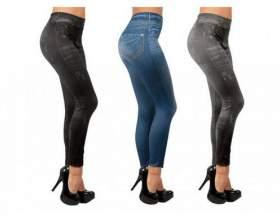 Леджінси slim jeggings: стягуючі джинси-легенси фото