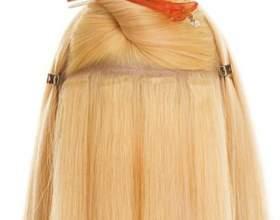 Стрічкове нарощування волосся фото